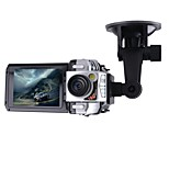 2.5 Inch F900 Car DVR Traveling Driving Data Recorder Camcorder Vehicle Camera Silver