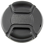 MENGS® Snap-On Lens Cap Cover With String / Leash For Nikon Canon And Sony
