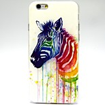 Horse Pattern TPU Material Soft Phone Case for iPhone 6