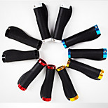 Bicycle Handlebar Grips Rubber Grips Lock Body To Cover Aluminum Color Handle