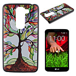 Colored Trees Pattern PC Phone Case for LG G2 Mini