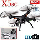 SYMA X5SC RC Drone with HD Camera x5c Upgrade Version,Headless Mode One Key Return
