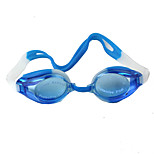 Blue Swimming Glasses Silica Gel To Prevent The Mist Water Send Earplugs