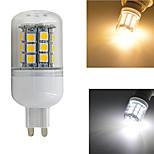 1 шт. G9 W 30 SMD 5050 420 LM Тёплый белый/Естественный белый Декоративная Лампа типа Корн AC 220-240 V