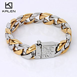 Kalen Men's Jewelry High Quality China Factory Bracelet Egyptian Gold Bracelets