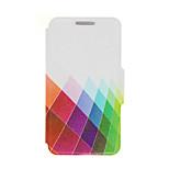 kinston® Farbe Diamant-Muster PU-Leder Ganzkörper-Abdeckung mit Standplatz für HTC One m9 plus / HTC ein M9 +