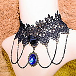 Fashion Vintage/Party/Casual/Wedding Alloy/Acrylic/Fabric/Lace Choker For Women