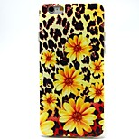 Yellow Flowers Pattern TPU Material Soft Phone Case for iPhone 6