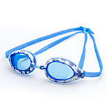 Winmax® Junior Adjustable Swimming Goggles Silicone Frame Dark Blue/Light Blue 100% Anti UV And Anti Fog