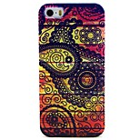 Flower Diameter Pattern TPU Soft Back Case for iPhone 5/5S
