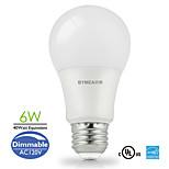 E26 Lâmpada Redonda LED A60(A19) 14 SMD 2835 500 lm Branco Quente / Branco Frio / Branco Natural Regulável AC 110-130 V 1 pç