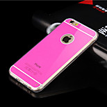 Imitation Color TPU with Acrylic Soft Case for iPhone 6(Assorted Color)