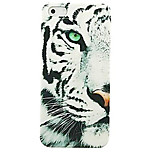 Half Face Snow Leopard Pattern Hard Case for iPhone 4/4S