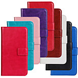 Horse Grain PU Leather Wallet Case for Samsung Galaxy S5 Mini (Assorted Colors)