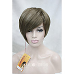 High Quality Heat Resistance Synthetic Fiber Asymmetrical Tilted Bangs Short Wig Two Selection