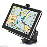 New 7 Inch Auto Car Truck GPS Navigation 4GB Map Sat Navi WinCE 6.0 FM Mp3 Mp4(Within the map of America)