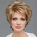 Europe and The United States High Quality Fashion High Quality High Temperature Synthetic Hair Silk Fashion Wig