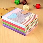 Cute Love Pattern Notebook (Random Color)