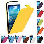 skórzana pionowa z klapką przycisk magnetyczne skórzane etui do Samsung Galaxy S4 i9500 (różne kolory)