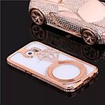speciell design mode hög kvalitet lyxiga metall diamant stötfångare ram för samsung galaxy s6 (blandade färger)