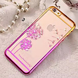 Diamond Bling Transparent Back Cover Case for iPhone 5/5S(Assorted Colors)