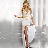 White Goddess Costumes  Female Princess Halloween Costumes For Women Dress/Sleeves