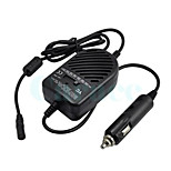 Universal 80W Car Cigarette Lighter Charger  8 Adapters for Laptop - Black (DC 11~14V)