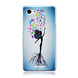 Humanoid Trees Pattern TPU Soft Back Cover Case for Sony Xperia E3