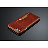 genuine leather cover for iphone 6 case