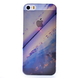 Sea Scenery Pattern Semipermeable Scrub PC Material Phone Case for iPhone 5/5S