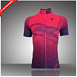 GETMOVING® Women's Short Sleeve Spring/Summer/Autumn Cycling Jerseys Breathable/Back Pocket/Wicking /Stretchy