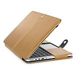 Golden Protective PU Leather Flip Open Case for MACBOOK 12