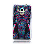 Colorful Elephant Pattern Ultrathin TPU Soft Back Cover Case for Samsung Galaxy Core 2 G3558/G3559/G355H
