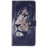 Magic Spider®Tiger Open PU Wallet Full Body Case with Screen Protector for Alcatel One Touch Pop C9
