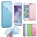 High Quality TPU Soft Case for iPhone 6 (Assorted Color)