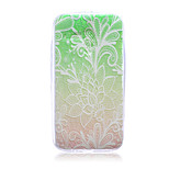 Lace Flowers Pattern TPU Soft Back Cover Case for Motorola moto G