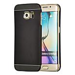magic spider®2 i 1 metal design tilbage tilfældet med skærm protektor for Samsung Galaxy s6 kant (assorterede farver)