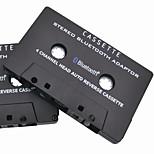Mobile Fun Stereo Bluetooth Car Cassette Adapter Stereo Music Receiver For Cassette Decks