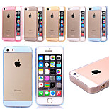 Glitter TPU +Acrylic Dust Protection Combo Phone Case For iPhone 5/5S (Assorted Color)