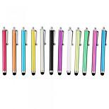 kinston® 12 x universell suksess metall stylus touch screen penn klipp for iPhone / iPad / samsung og andre