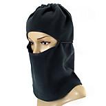 ZIQIAO Multifunction Fleece Black Balaclava Hood SWAT Ski Mask