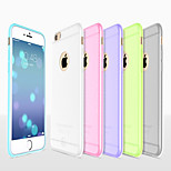 Hoco Colorful Ultra Thin Bumper Matte Sticking Soft Silicone Case Cover for Iphone 6