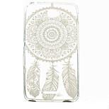 White Campanula Pattern TPU Phone Case for Sony Xperia E4G