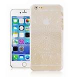 The Maple Leaf Pattern Transparent Phone Case Back Cover Case for iPhone6 Plus Case