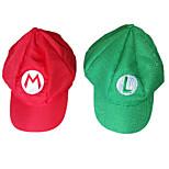 Super Mario Bros. Alphabet Pattern Halloween Party Cosplay Hat