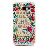 coco fun® liten blommönster pu läderfodral till Samsung Galaxy A3 / A5 / A7