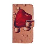 Magie Spider® tropfenförmigen Herz pu Ganzkörper Fall stehen mit Displayschutzfolie für Samsung Galaxy s6