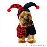 New Style Pet Apparel Clowns Cosplay Clothes For Dogs / Cats