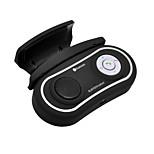 kit voiture mains libres Bluetooth clipsé sur volant de voiture, Bluetooth 3.0 + EDR peut soutenir deux téléphones simultanément