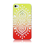 Gradient Printing Pattern TPU Material Soft Phone Case for iPhone 4/4S